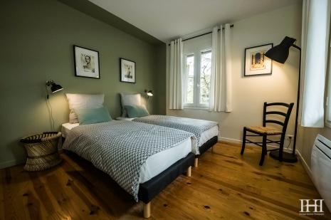 Maison décoration moulleau vert de terre